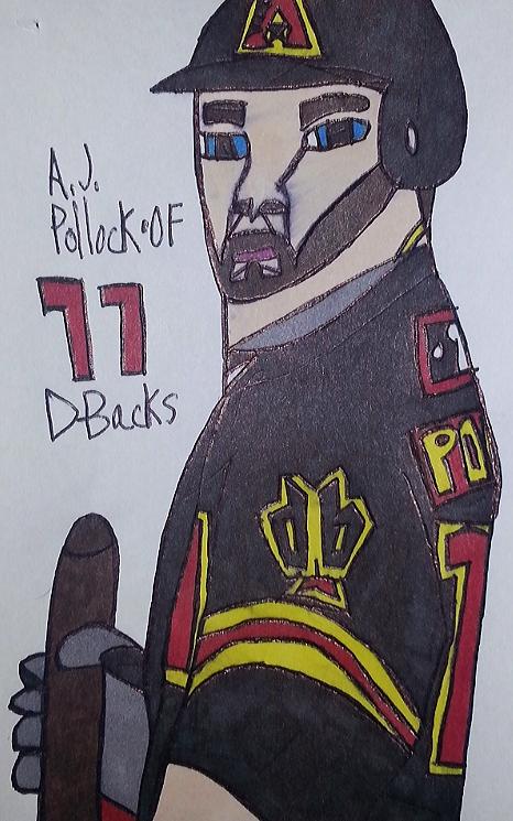 A. J. Pollock por armattock